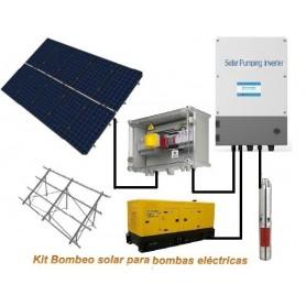 Kit bombeo solar hasta 4 CV Trifásico