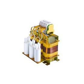 Filtros Senoidal LC para Salida de Convertidor 1,5 kW / 2 CV 4A.