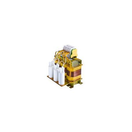 Filtros Senoidal LC para Salida de Convertidor0,75Kw 2 A.