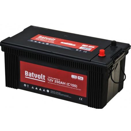 Batería Solar 12V 250Ah C100 sin mantenimiento