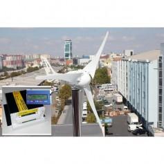 Aerogenerador de viento 750 wats / 24 voltios