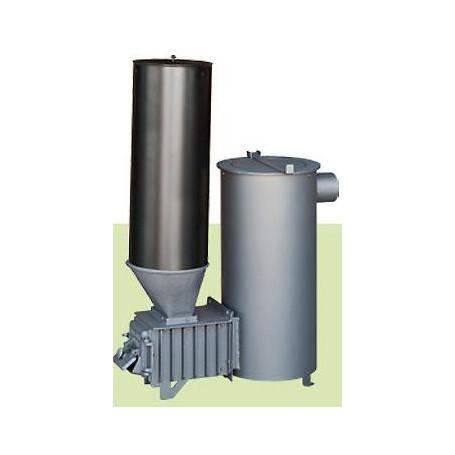 Estufa policombustible carga superior