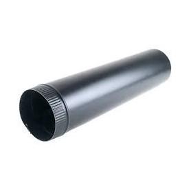 Tubo chapa galvanizada color negro