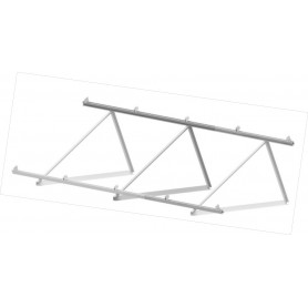 Estructura Paneles Solares Cubierta plana CVE 915 XL