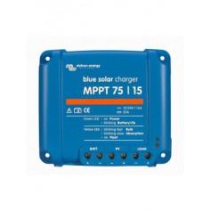 Regulador de carga BlueSolar MPPT 75/15, 15A de 12/24V automático