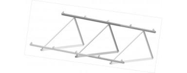 Estructura cubierta plana