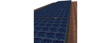 Estructura tejado de teja