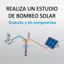 Estudio de bombeo solar